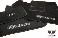 Tapete Automotivo Hyundai IX 35 em Carpet Linha Luxo