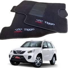 Tapete Automotivo Chery Tiggo em Carpet Linha Luxo