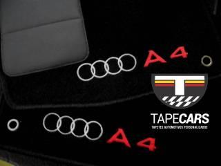 Tapete Automotivo  Audi A4 em Carpet Linha Luxo | Scar Automotive
