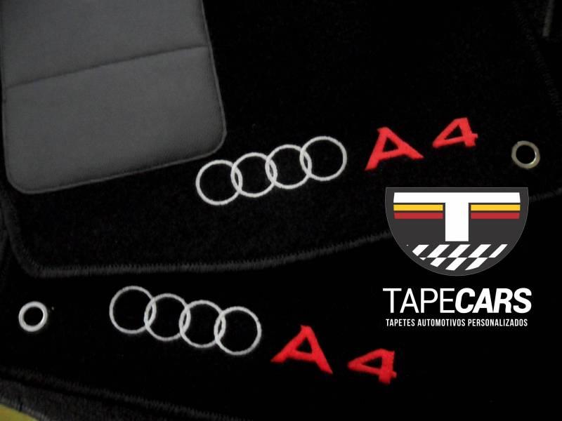 Tapete Automotivo  Audi A4 em Carpet Linha Luxo