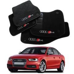 Tapete Automotivo Audi S4 em Carpet Linha Luxo