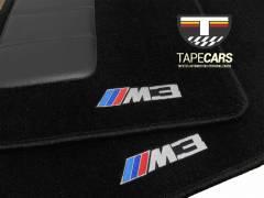 Tapete Automotivo BMW M3  em Carpet Linha Luxo