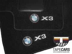 Tapete Automotivo BMW X3  em Carpet Linha Luxo