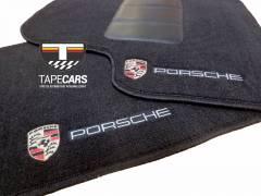 Tapete Automotivo Porsche 911 em Carpet Linha Luxo