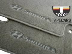 Tapete Automotivo Hyundai Santa Fé em Carpet Linha Luxo
