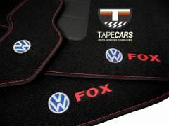 Tapete Automotivo VW Fox em Carpet Linha Luxo