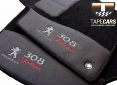 Tapete Automotivo Peugeot 308 em Carpet Linha Luxo