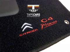 Tapete Automotivo Citroen C4 Picasso em Carpet Linha Luxo