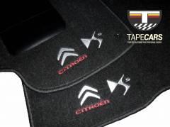 Tapete Automotivo Citroen DS5 em Carpet Linha Luxo