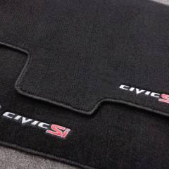 Tapete Automotivo Honda Civic SI em Carpet Linha Luxo