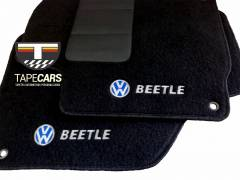 Tapete Automotivo VW Beetle em Carpet Linha Luxo