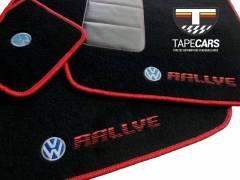 Tapete Automotivo VW Gol Rallye em Carpet Linha Luxo