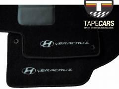 Tapete Automotivo Hyundai Veracruz em Carpet Linha Luxo