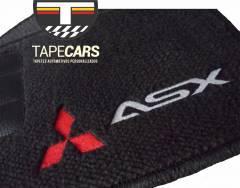 Tapete Automotivo Mitsubishi ASX em Carpet Linha Luxo