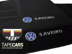 Tapete Automotivo VW Saveiro em Carpet Linha Luxo