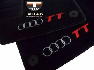 Tapete Automotivo Audi TT em Carpet Linha Luxo | Scar Automotive