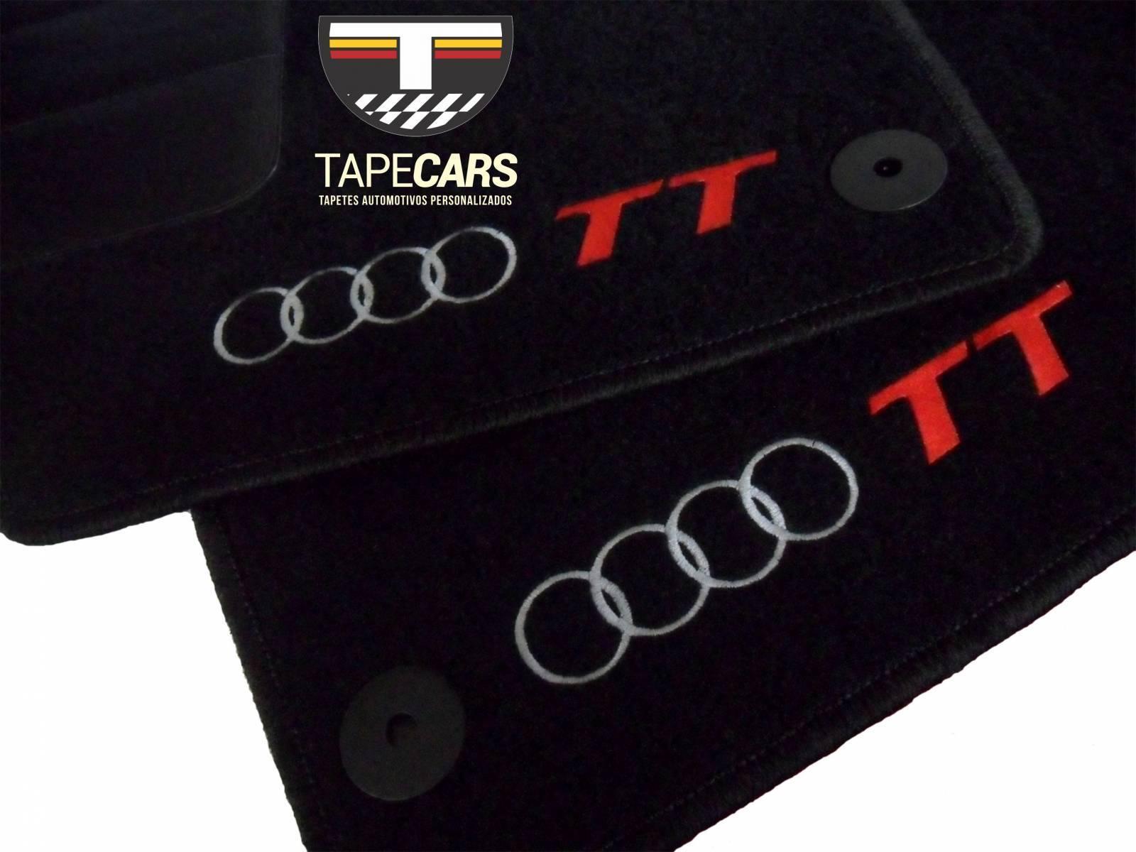 Tapete Automotivo Audi TT em Carpet Linha Luxo