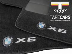 Tapete Automotivo BMW X6  em Carpet Linha Luxo