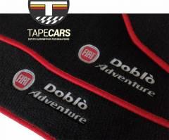 Tapete Automotivo Fiat Doblô em Carpet Linha Luxo