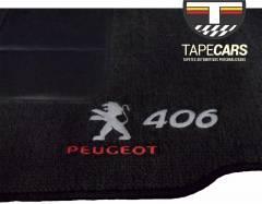 Tapete Automotivo Peugeot 406 em Carpet Linha Luxo