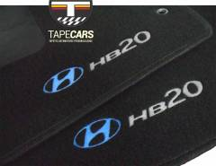 Tapete Automotivo Hyundai HB20 em Carpet Linha Luxo