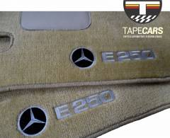 Tapete Automotivo Mercedes Benz E em  250 Carpet Linha Luxo