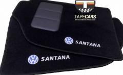 Tapete Automotivo VW Santana em Carpet Linha Luxo
