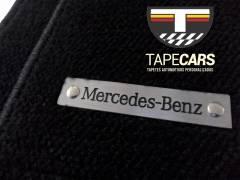 Tapete Automotivo Mercedes Benz  em Carpet Linha Luxo