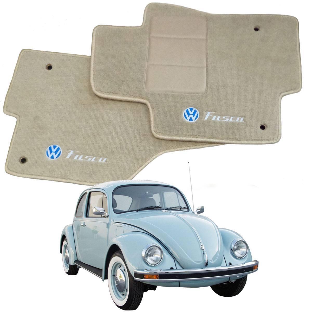 Tapete Automotivo VW Fusca em Carpet Linha Luxo