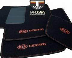 Tapete Automotivo Kia Cerato em Carpet Linha Luxo