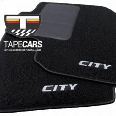 Tapete Automotivo Honda City em Carpet Linha Luxo