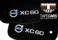 Tapete Automotivo Personalizado Volvo XC 60 em Carpet Linha Luxo