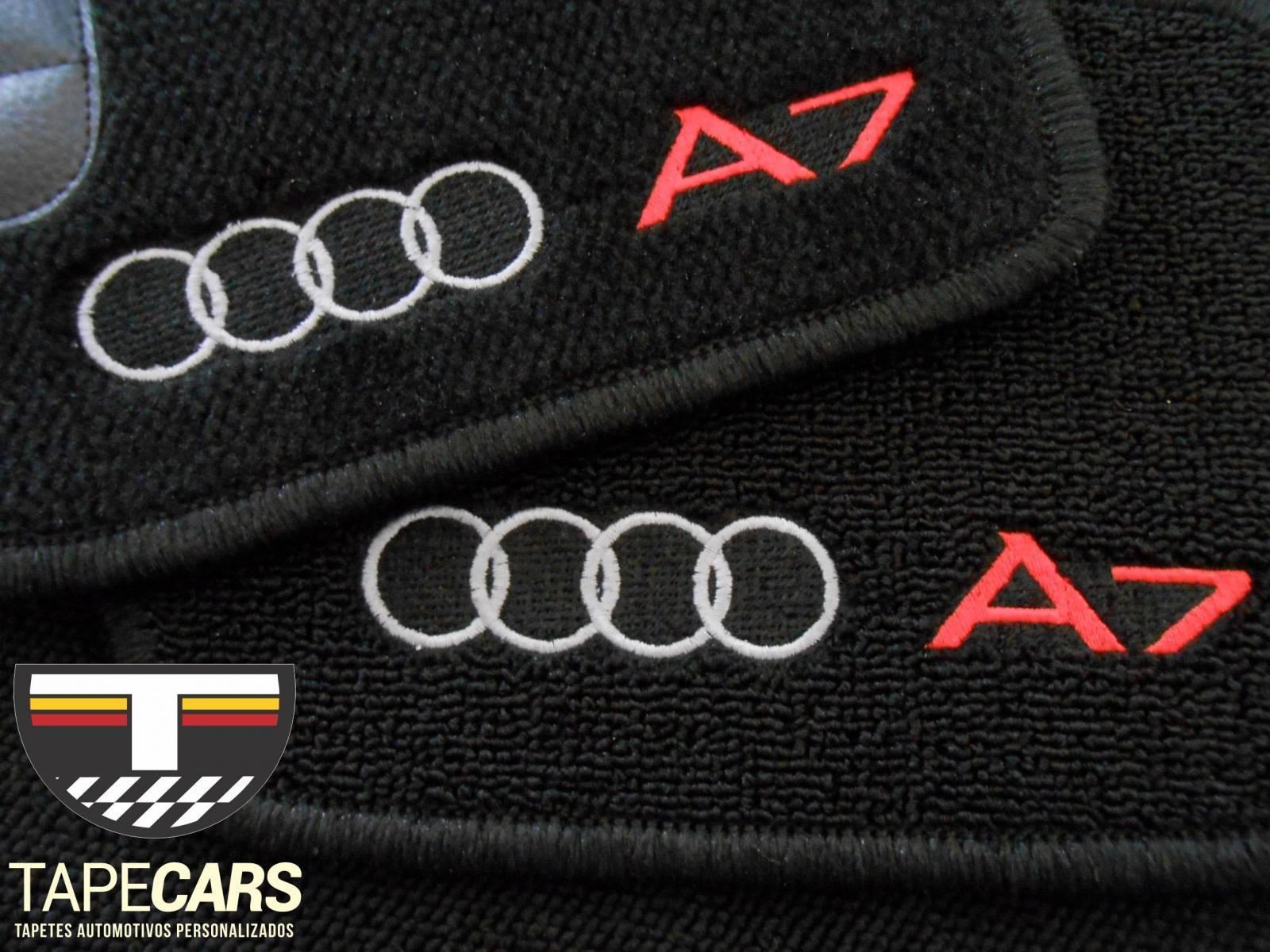 Tapete Automotivo Audi A7 em Carpet Linha Luxo