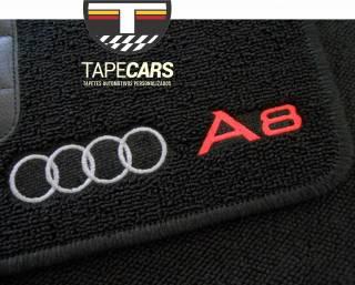 Tapete Automotivo Audi A8 em Carpet Linha Luxo   Scar Automotive