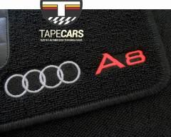 Tapete Automotivo Audi A8 em Carpet Linha Luxo