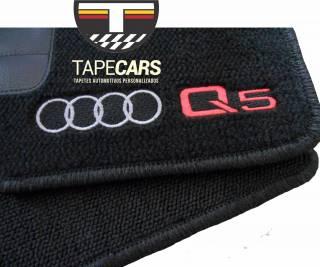 Tapete Automotivo Audi Q5 em Carpet Linha Luxo | Scar Automotive
