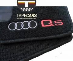 Tapete Automotivo Audi Q5 em Carpet Linha Luxo