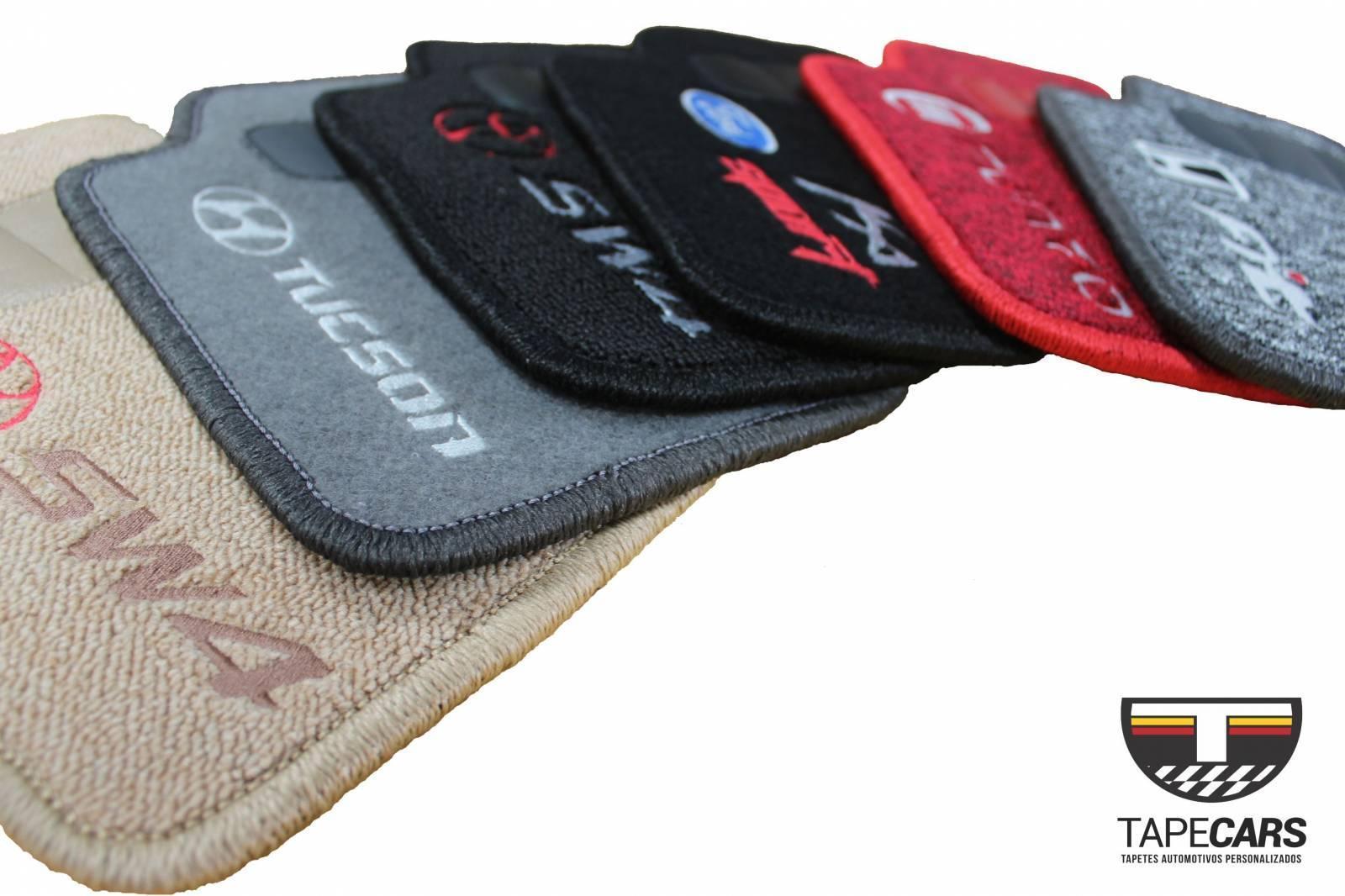 Tapete Automotivo Audi Q7 em Carpet Linha Luxo