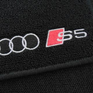 Tapete Automotivo Audi S5 em Carpet Linha Luxo | Scar Automotive