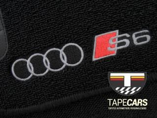 Tapete Automotivo Audi S6 em Carpet Linha Luxo   Scar Automotive