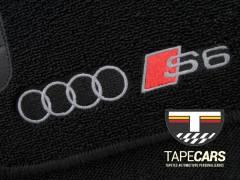 Tapete Automotivo Audi S6 em Carpet Linha Luxo