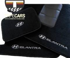Tapete Automotivo Hyundai Elantra em Carpet Linha Luxo