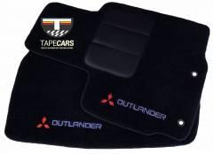 Tapete Automotivo Mitsubishi Outlander em Carpet Linha Luxo