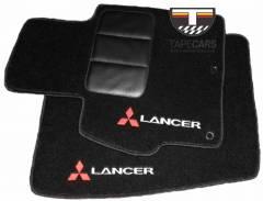 Tapete Automotivo Mitsubishi Lancer em Carpet Linha Luxo