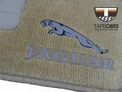Tapete Automotivo Jaguar F-Type em Carpet Linha Luxo