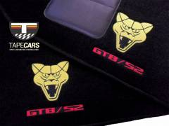 Tapete Automotivo Puma GTB S2 em Carpet Linha Luxo