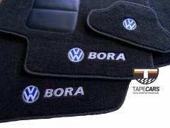 Tapete Automotivo VW Bora em Carpet Linha Luxo