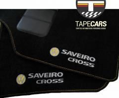 Tapete Automotivo VW Saveiro Cross em Carpet Linha Luxo