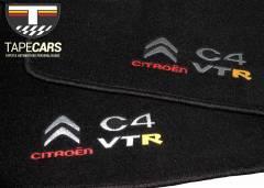 Tapete Automotivo Citroen C4 VTR em Carpet Linha Luxo