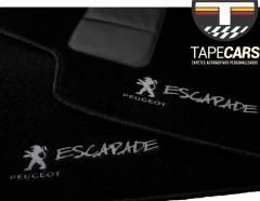 Tapete Automotivo Peugeot 207 Escapade em Carpet Linha Luxo